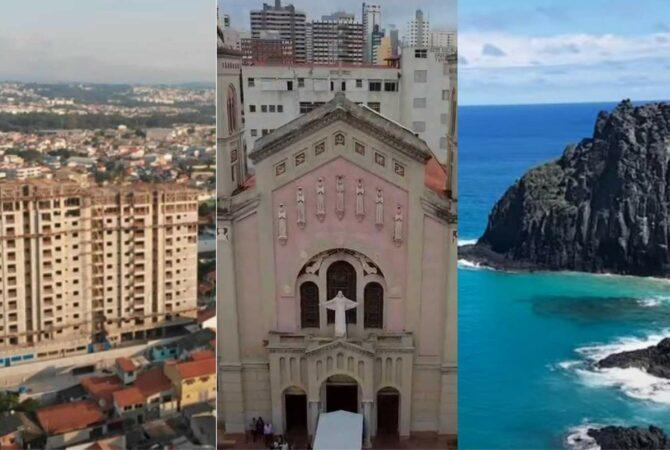 As 20 menores cidades do Brasil em tamanho do território