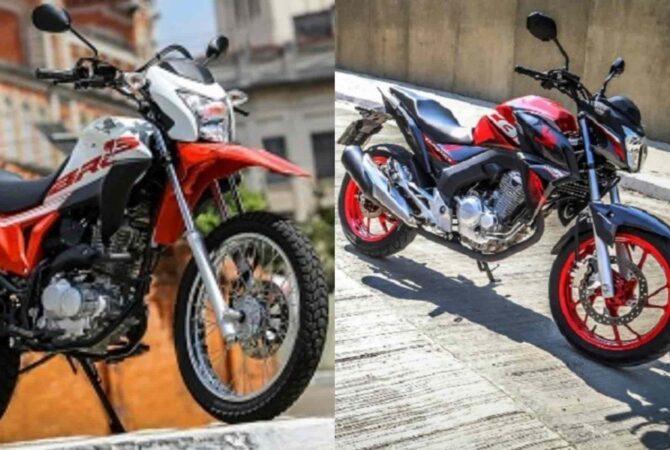 Veja quais foram as 10 motos mais vendidas no Brasil