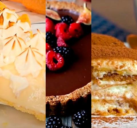 Dez doces deliciosos para surpreender as visitas.