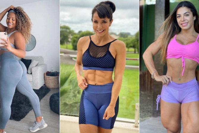 Conheça 10 musas fitness para seguir e ter dicas de saúde e looks de treino