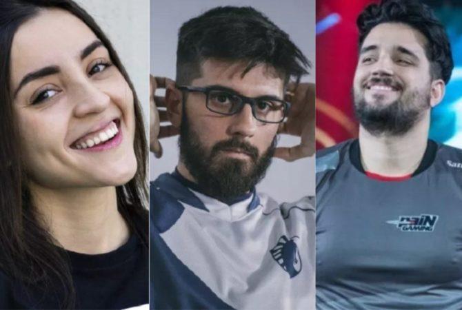 Gamers que são sucesso no Brasil