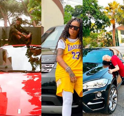 Carros incríveis de celebridades brasileiras